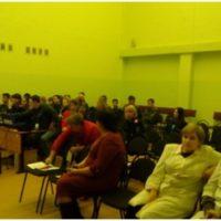 учащиеся Кадетского корпуса п. Новоильинский