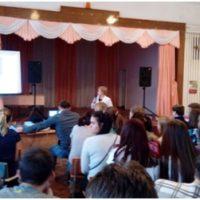 учащиеся Уральской средней школы